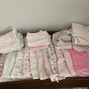 10 for $20 Mystery box baby girl blankets